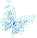 Abstract Butterfly Floral Background Royalty Free Stock Photography - 36681377