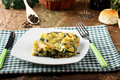 Lasagne With Spinach And Ricotta Royalty Free Stock Images - 36682589