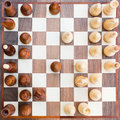 Chess Board With All The Figures Royalty Free Stock Image - 36686256