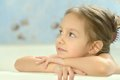 Little Girl In Bath Stock Images - 36695784