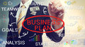 Businessman Drawing Business Plan Concepts Royalty Free Stock Photography - 36697687