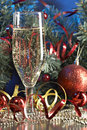 Glass With Champagne Stock Image - 3676131