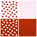 Valentine Seamless Backgrounds Royalty Free Stock Photography - 36727227
