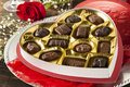 Box Of Gourmet Chocolates For Valentine S Day Stock Images - 36733134