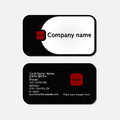 Simple Business Cards Royalty Free Stock Photos - 36737268