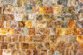 Decorative Textured Background Wall Of Marble Tiles Royalty Free Stock Images - 36738169