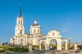 Temple Of The Blessed Virgin Assumption. Russia Royalty Free Stock Images - 36740389
