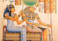 Ancient Egyptian Papyrus Royalty Free Stock Photo - 36742785