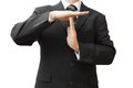 Businessman Showing Time Out Sign With Hands Stock Photos - 36747653