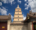 Giant Wild Goose Pagoda, Xian (Sian, Xi An), Shaanxi Province, China Royalty Free Stock Photos - 36755798