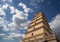 Giant Wild Goose Pagoda, Xian (Sian, Xi An), Shaanxi Province, China Royalty Free Stock Photography - 36757917