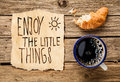 Inspirational Early Morning Breakfast Royalty Free Stock Image - 36767536
