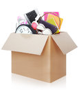 Cardboard Box. Moving Day Concept Stock Photos - 36809883