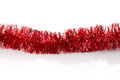 Red Tinsel Stock Photo - 36813870