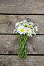 Chamomile On Wooden Table Royalty Free Stock Photos - 36818388