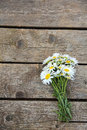 Chamomile On Wooden Table Royalty Free Stock Photography - 36819157