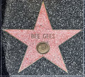 Bee Gees S Star On Hollywood Walk Stock Image - 36833401