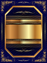 Gold Frame With Pattern 13 Royalty Free Stock Photography - 36837147