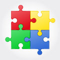 Square Puzzle Vector Illustration Stock Images - 36846114
