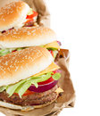 Hamburgers Royalty Free Stock Photos - 36850718