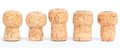 Corks In A Row Royalty Free Stock Photography - 36856757