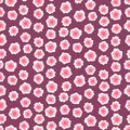Ditsy Floral Pattern With Small Pink Flowers Stock Photos - 36866263