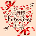 Happy Valentines Day Royalty Free Stock Photos - 36867948