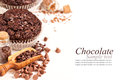 Chocolate Muffins Stock Images - 36901834