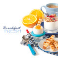 Fresh Breakfast. Royalty Free Stock Images - 36923259