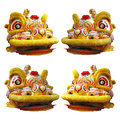 Chinese Lion Dance Head Stock Photos - 36930713