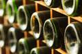 Stacked Of Old Wine Bottles In The Cellar Stock Photography - 36934782