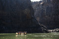 LIVINGSTONE - OCTOBER 01 2013: Extreme Rafting Group Gets Ready Royalty Free Stock Photos - 36938488