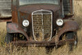 Old Rusty Grain Truck Royalty Free Stock Images - 36943969