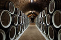 Barrels In The Wine Cellar Stock Photography - 36945762