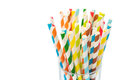 Striped  Drink Straws Royalty Free Stock Photos - 36962048