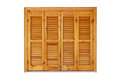 Wooden Window With Shutters Closed Royalty Free Stock Photography - 36988287