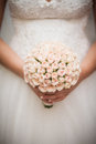 Beautiful Wedding Bouquet In Hands Of The Bride Stock Photos - 37005403