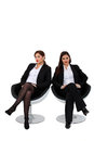 Businesswomen Sitting Together Stock Images - 37038814