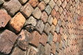 Curved Brick Wall Stock Photos - 37053623