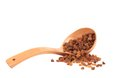 Wooden Spoon With Raisins. Royalty Free Stock Images - 37075029