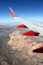 Southwest Wing Over Red Rock Canyon Royalty Free Stock Images - 37091149