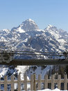 Mountains Covered In Snow Royalty Free Stock Images - 3712709