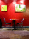 Artwork In Cafe Royalty Free Stock Photo - 3716905