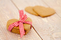 Valentine S Day Gingerbread Hearts Royalty Free Stock Photo - 37107275