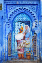 Blue Medina Of Chefchaouen City In Morocco, North Africa Royalty Free Stock Photography - 37121267