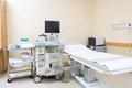 Ultrasound Machine And Bed In Hospital Royalty Free Stock Photos - 37125898