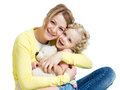 Mother Playing With Kid Girl And Plush Toy Stock Photos - 37154503