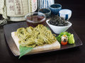 Japanese Cuisine. Udon On The Background Stock Images - 37164154