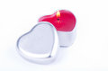 Heart Shaped Candle Royalty Free Stock Photo - 37172115