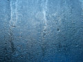 Frozen Water On Glass Window Stock Image - 37185171